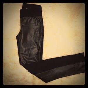 Dark brown Club Monaco leggings